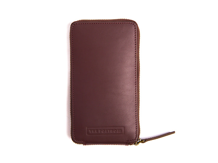 AIO Mobile wallet - Burgundy (Custom)