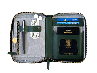 AIO Mobile & Passport Unit - Emerald Green