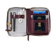 AIO Mobile & Passport Unit - Burgundy