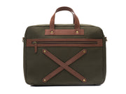 The Arrival - Laptop Workbag Forest Green (Custom)