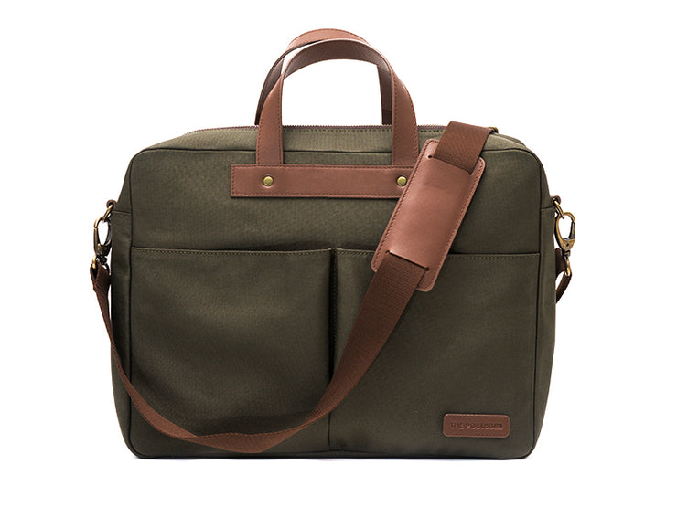 The Arrival - Laptop Workbag (Forest Green)