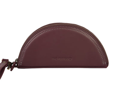 Luna Clutch - Burgundy