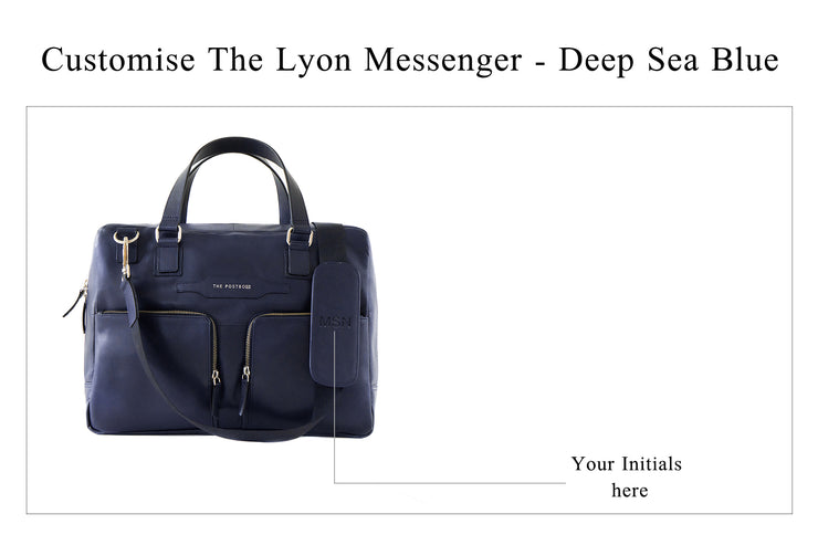 Lyon Messenger - Deep Sea Blue (Custom)