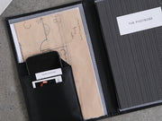 Diary Organiser - Black / Stripes