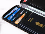 Drift Passport Wallet - Black