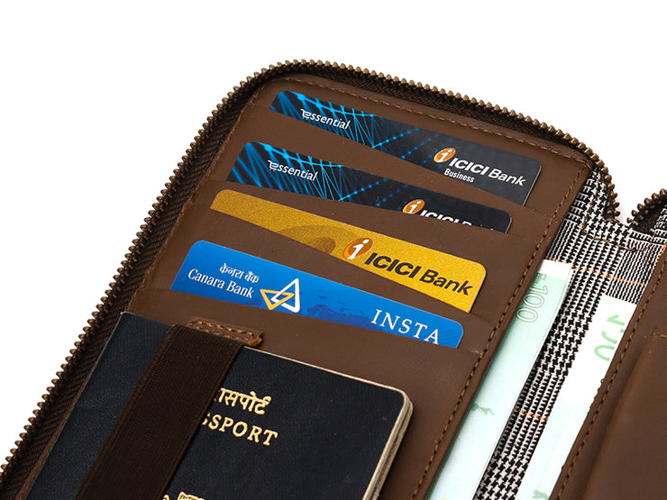 Drift Passport Wallet - Tan (Custom)