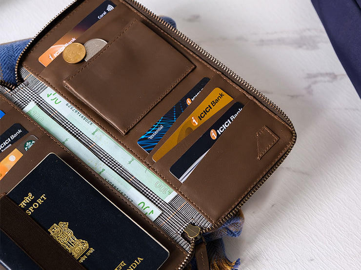Drift Passport Wallet - Tan - Samples