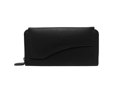 Florentine Long Wallet (Black)