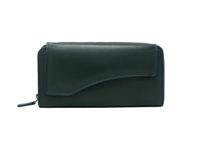Florentine Long Wallet (Emerald Green)
