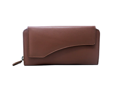 Florentine Long Wallet (Classic Tan)