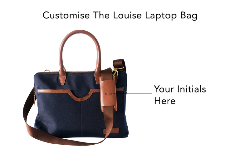 Louise Laptop Bag (Oxford Blue)