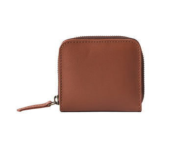Chester Zipper Wallet - Classic Tan