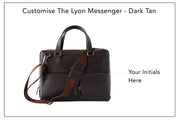 Lyon Messenger - Dark Tan (Custom)