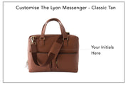 Lyon Messenger - Classic Tan (Custom)