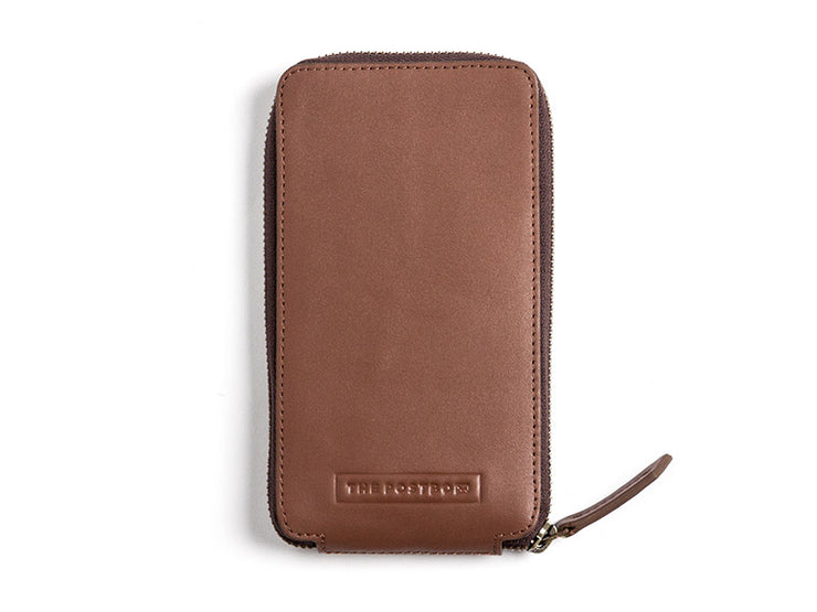 AIO Mobile wallet - Classic Tan (Custom)