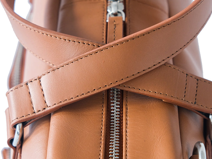 Lyon Messenger - British Tan (Custom)