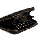 Piquant - Classic Zipper Wallet (Carbon Black)