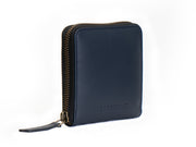 Piquant - Classic Zipper Wallet (Deep Sea Blue)