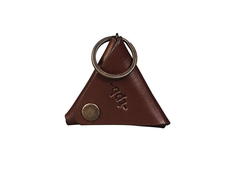 Coin Pouch + Keychain - Tan