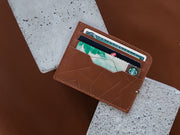 Sterling Card Holder - Classic Tan