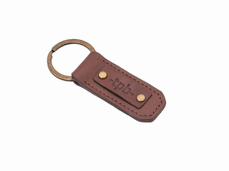 Key Ring Holder - Tan