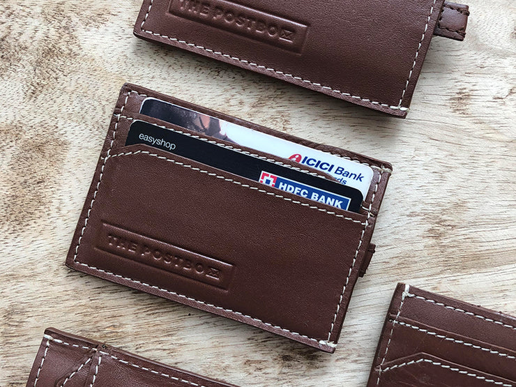 Snap - Card holder - Tan