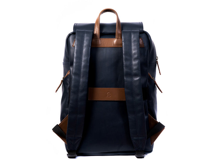 The Transit 2.0 - Blue Nappa Leather