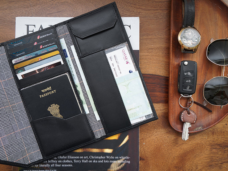 Wanderlust Passport Wallet - Duo