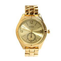 Guess 9174-Ladies Gold Chain watch