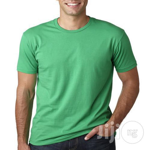 BYC Fitted Round Neck T- Shirt -Green