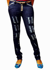 Women Slim Fit Skinny Jeans Pant Trousers