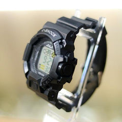 C-SHOCK JAIJI KID FULL BLACK SILICON STAP WRIST WATCH