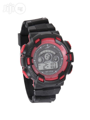 3 Kid C-shock Digital Black/Red Wrist Watch - One Size