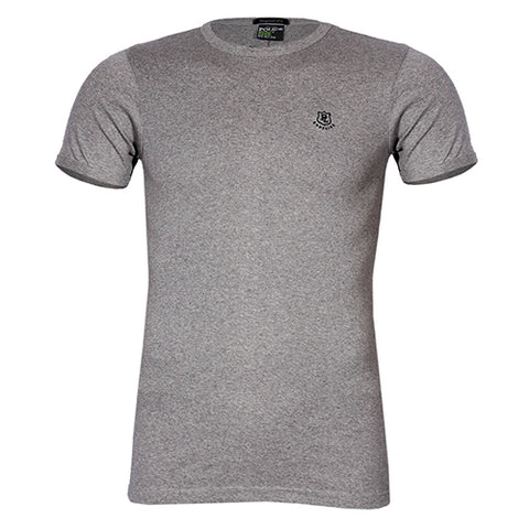 POLICE 1088 FREESIZE PRINTED GREY MEDIUM SHORT SLEEVE T-SHIRT