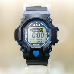 C-SHOCK JAIJI KID BLUE SILICON STRAP WRIST WATCH