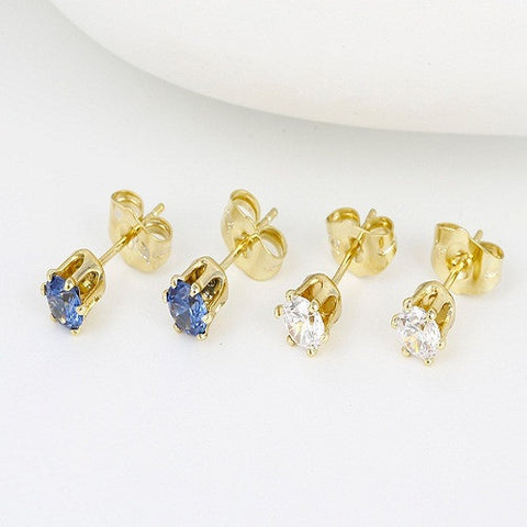 2 IN 1 BUNDLE SPECIAL PRICE ZIRCON PIN EARRING