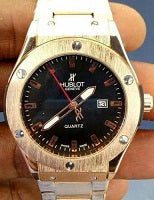 HUBLOT 882888 MEN SILICON WRIST WATCH