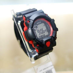 C-SHOCK JAIJI KID RED SILICON STRAP WRIST WATCH