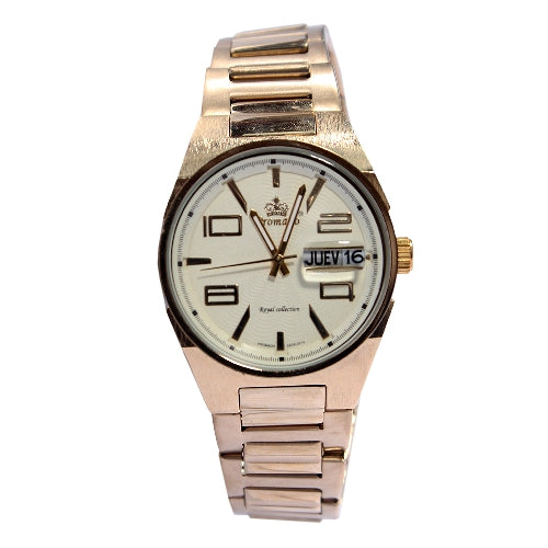 Promado 3514 18K GOLD Chain Gold Face Watch