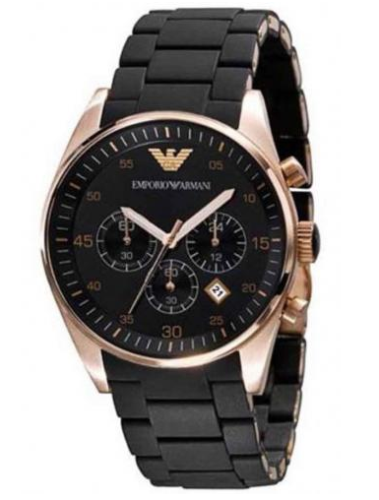 EMPORIOR ARMANI BLACK INSPIRED MALE WATCH