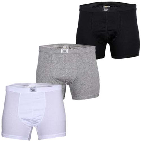 Police 0114  3in1 Boxers Black,White & Grey  Size M - XXL