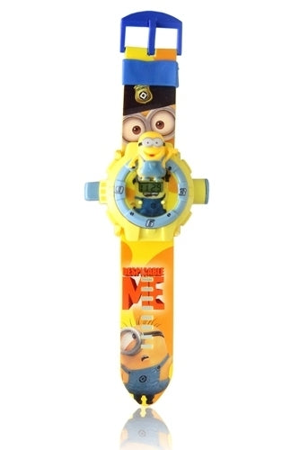 DESPICABLE ME KID CARTOON SILICON WATCH
