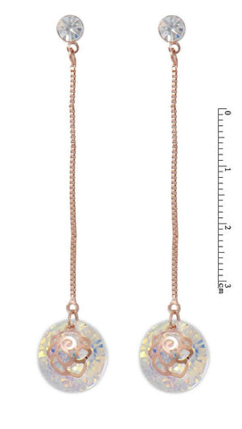 VIENNOIS FABULOUS FLORAL DROP AND DANGLE EARRING Y5316478