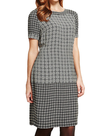 MARK & SPENCER PLUS SIZE GREY/BLACK  DRESS