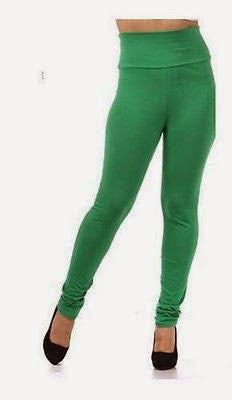 THICK PLUS SIZE GREEN HIGH WAIST LEGGING