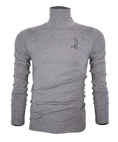 Jayden Grey Turtle Neck Long-sleeve T shirt