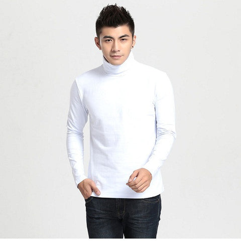 U.S Army Bigsize White turtle neck T-shirt
