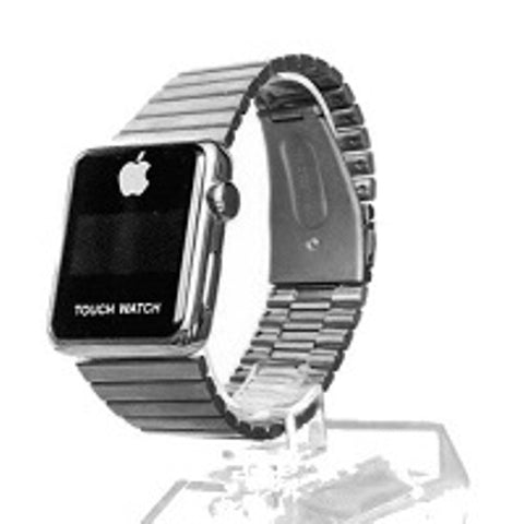 Apple Inspired Touch Watch - Silver Wrist Watch