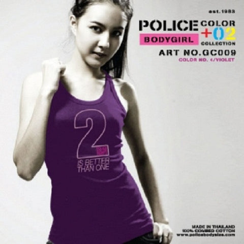 POLICE GC.009 BODYGIRL MEDIUM PRINTED COLOR VEST