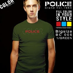 POLICE BC.005 LARGE SALES T-SHIRT
